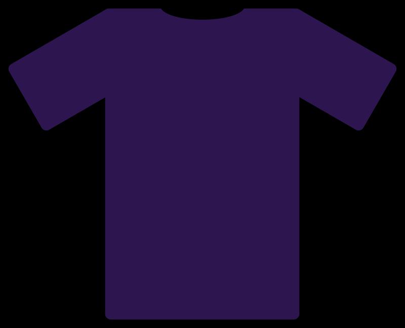 Blue Black T Shirt Image
