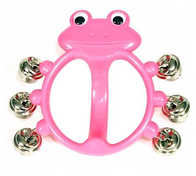 Bells - Bambina Pink Frog, 6 bells